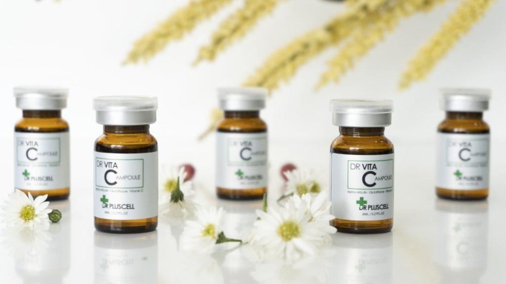 Sản phẩm Dr VitaC Ampoule hỗ trợ điều trị nám