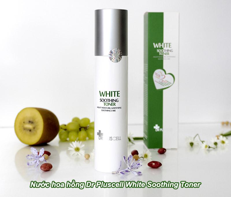 Nước hoa hồng Dr Pluscell White Soothing Toner