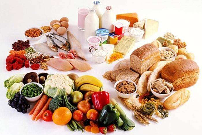 Xây dựng khẩu phần ăn đủ chất cho cơ thể