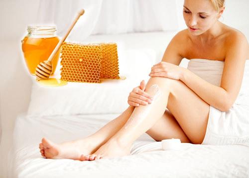 Dưỡng trắng da toàn thân bằng mật ong nguyên chất